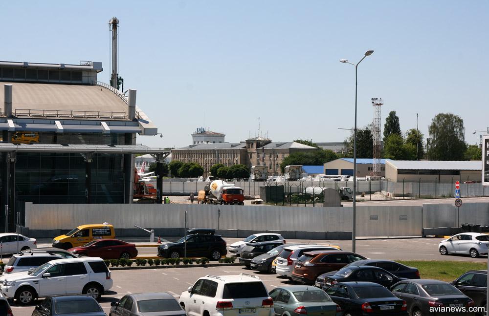 Строительство санкции терминала