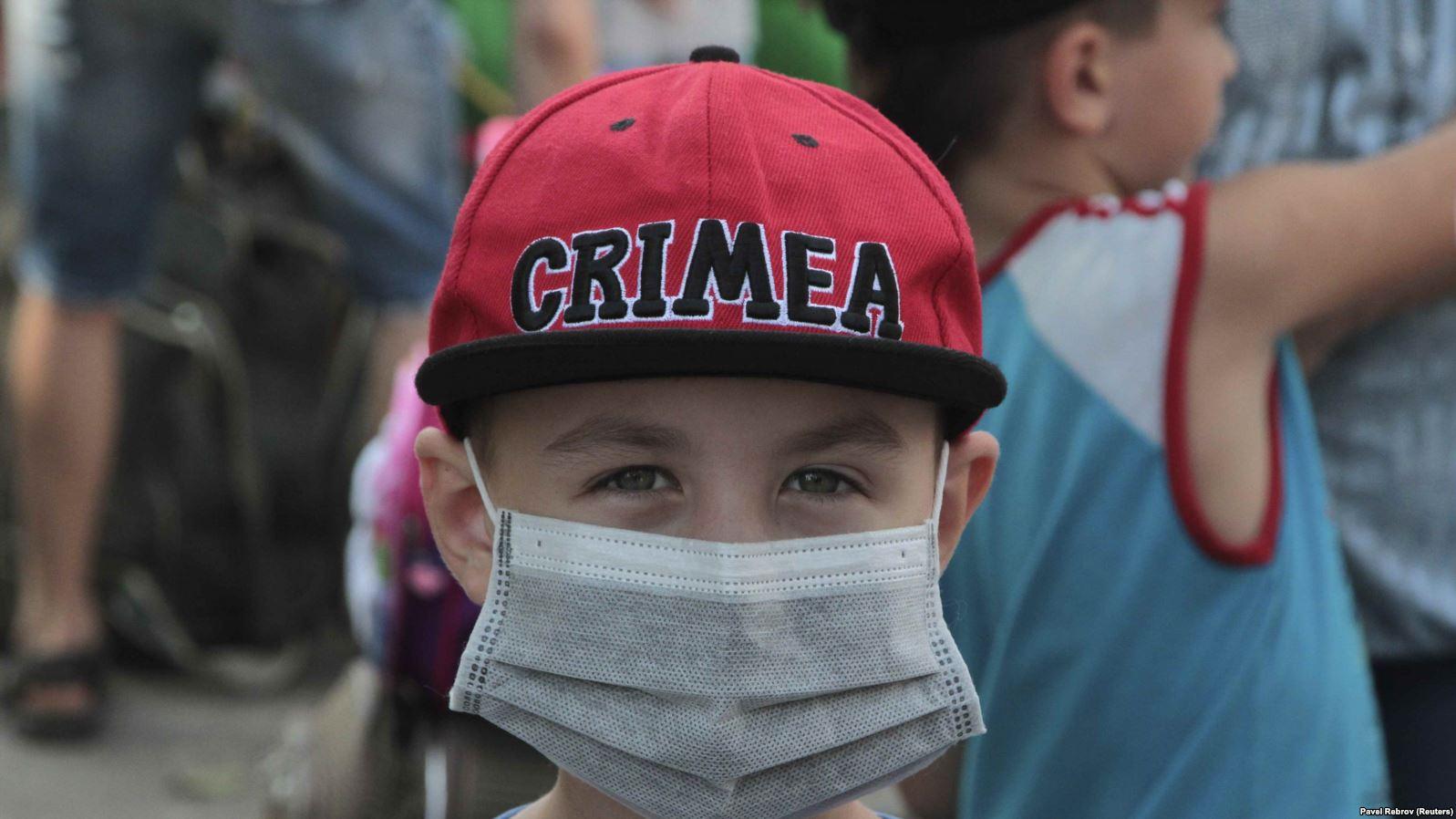 Армянск_эвакуация детей