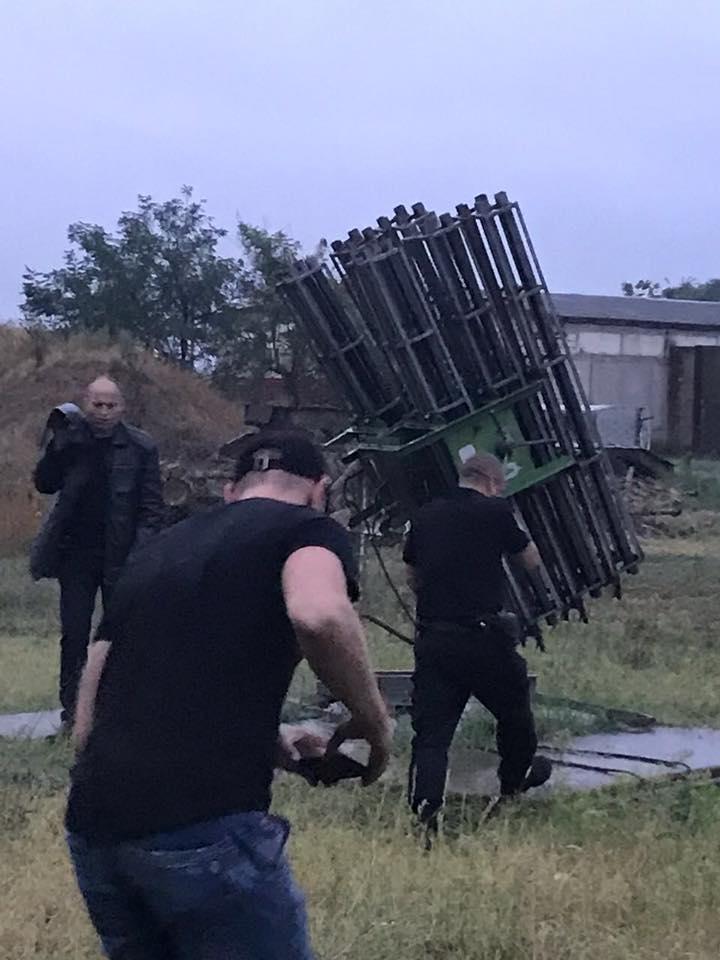 склад с ракетами
