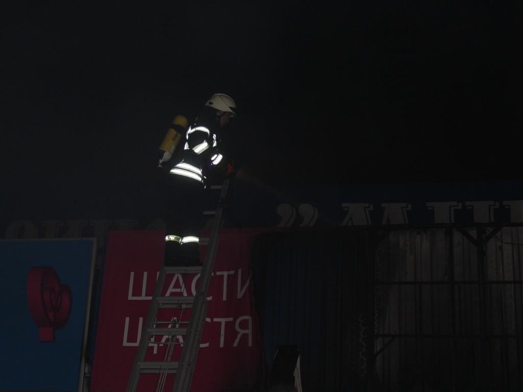 Минский рынок_пожар