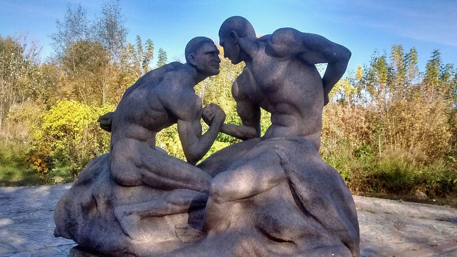 скульптура Кличко_коростышев