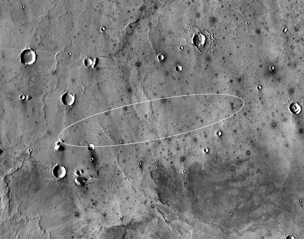 высадка марс