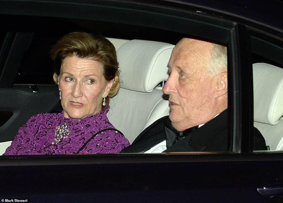 король Норвегии Харальд и королева Соня
