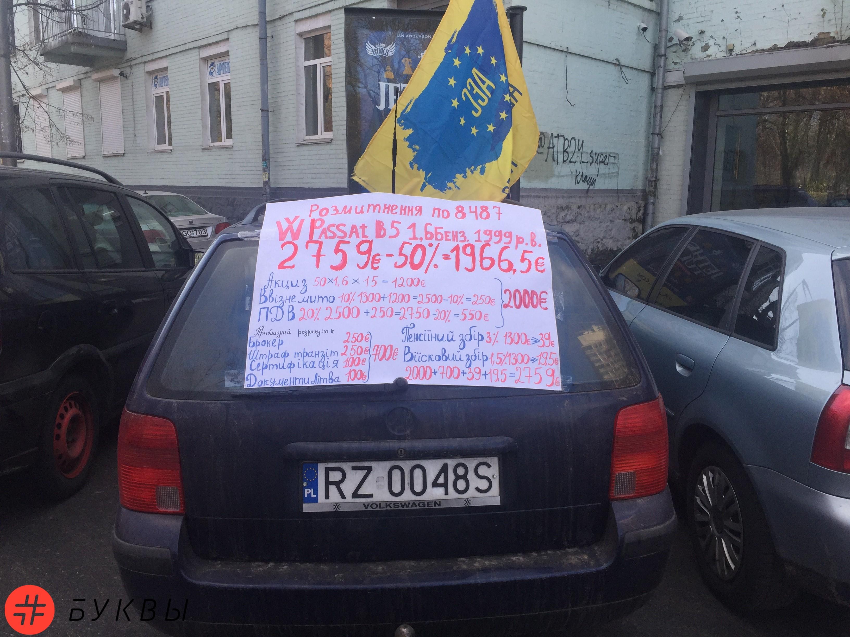 евробляхеры в Киеве