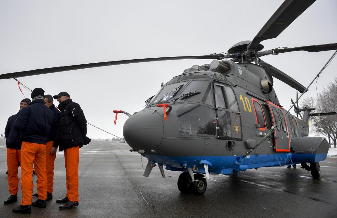 новый вертолет украины фото