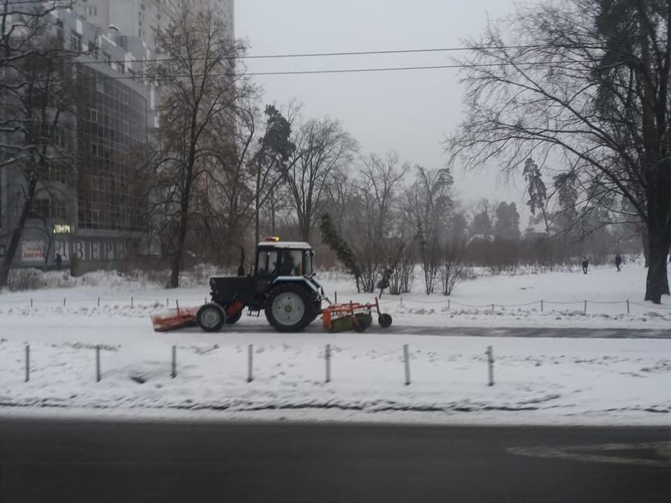 снег киев3