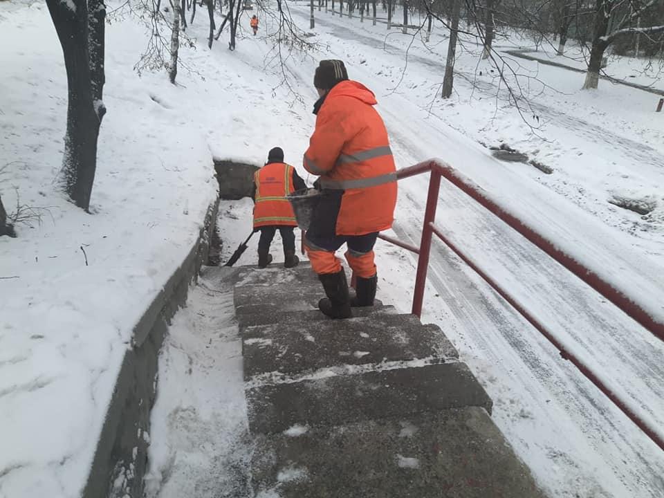 снег киев6
