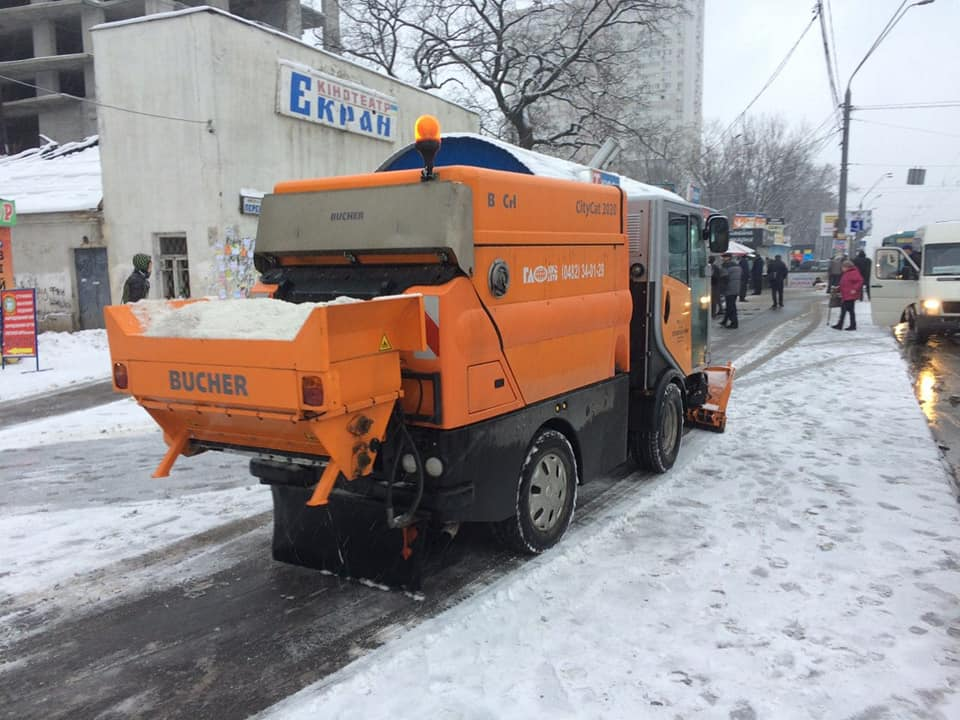 снег киев8