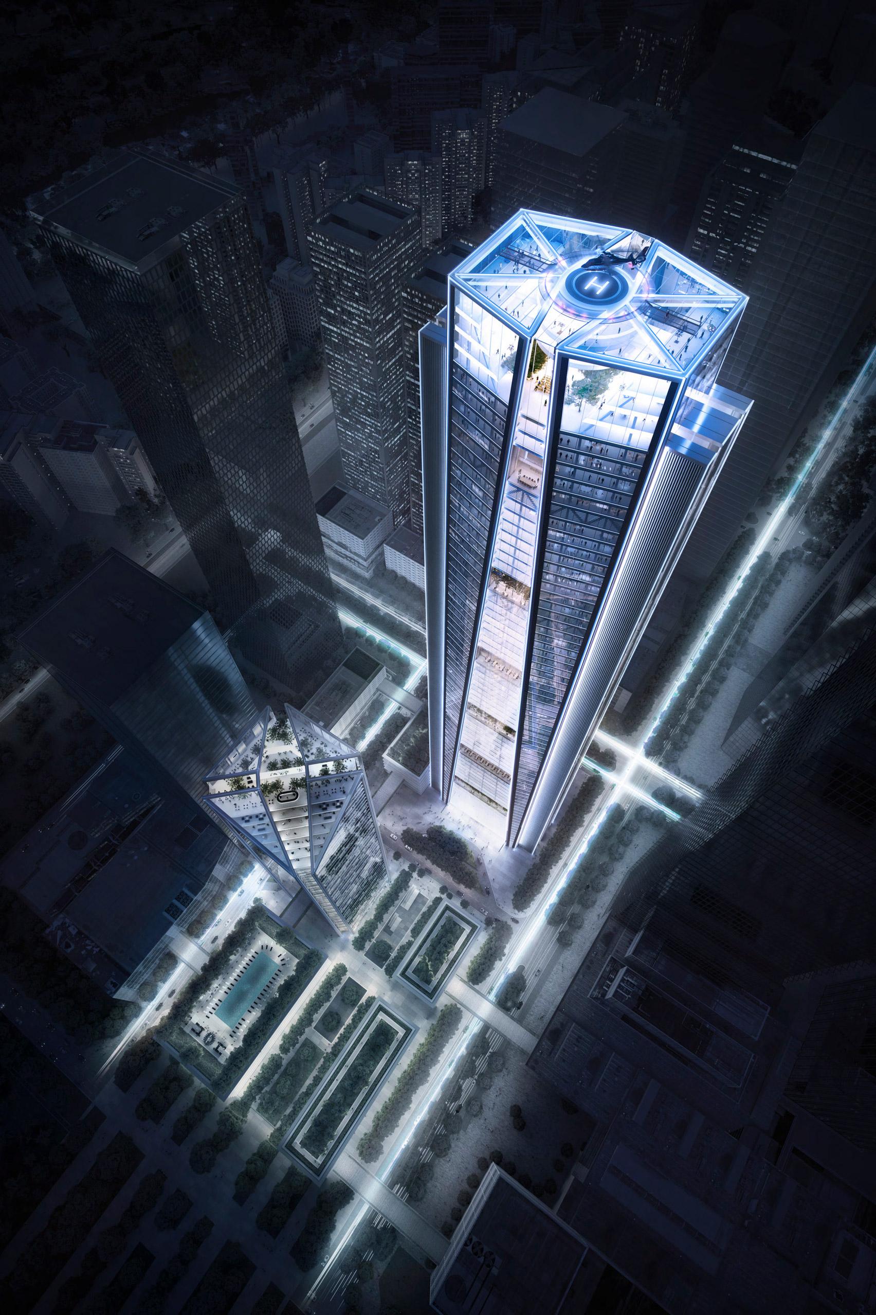 foster partners china merchants bank hq shenzhen skyscraper dezeen 1704 col 0