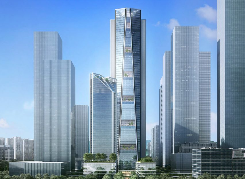 foster partners china merchants bank hq shenzhen skyscraper dezeen 1704 hero 852x623