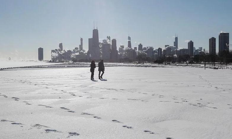 мороз в США