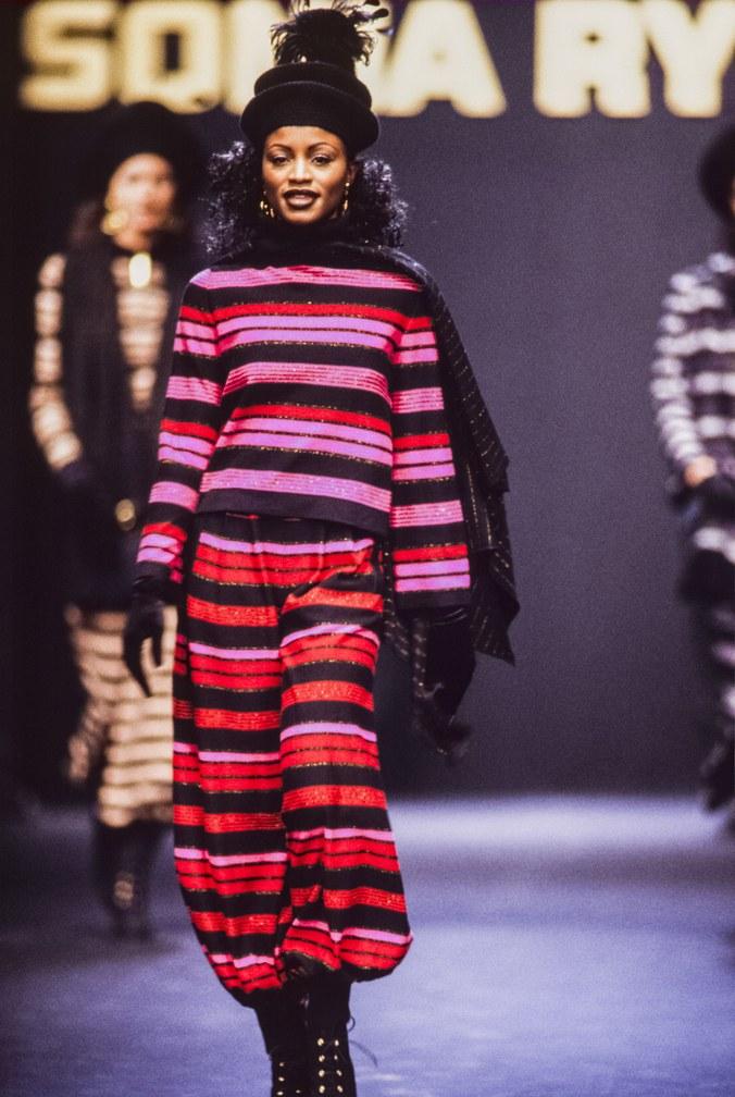 11 Показ коллекции Sonia Rykiel осень 1994