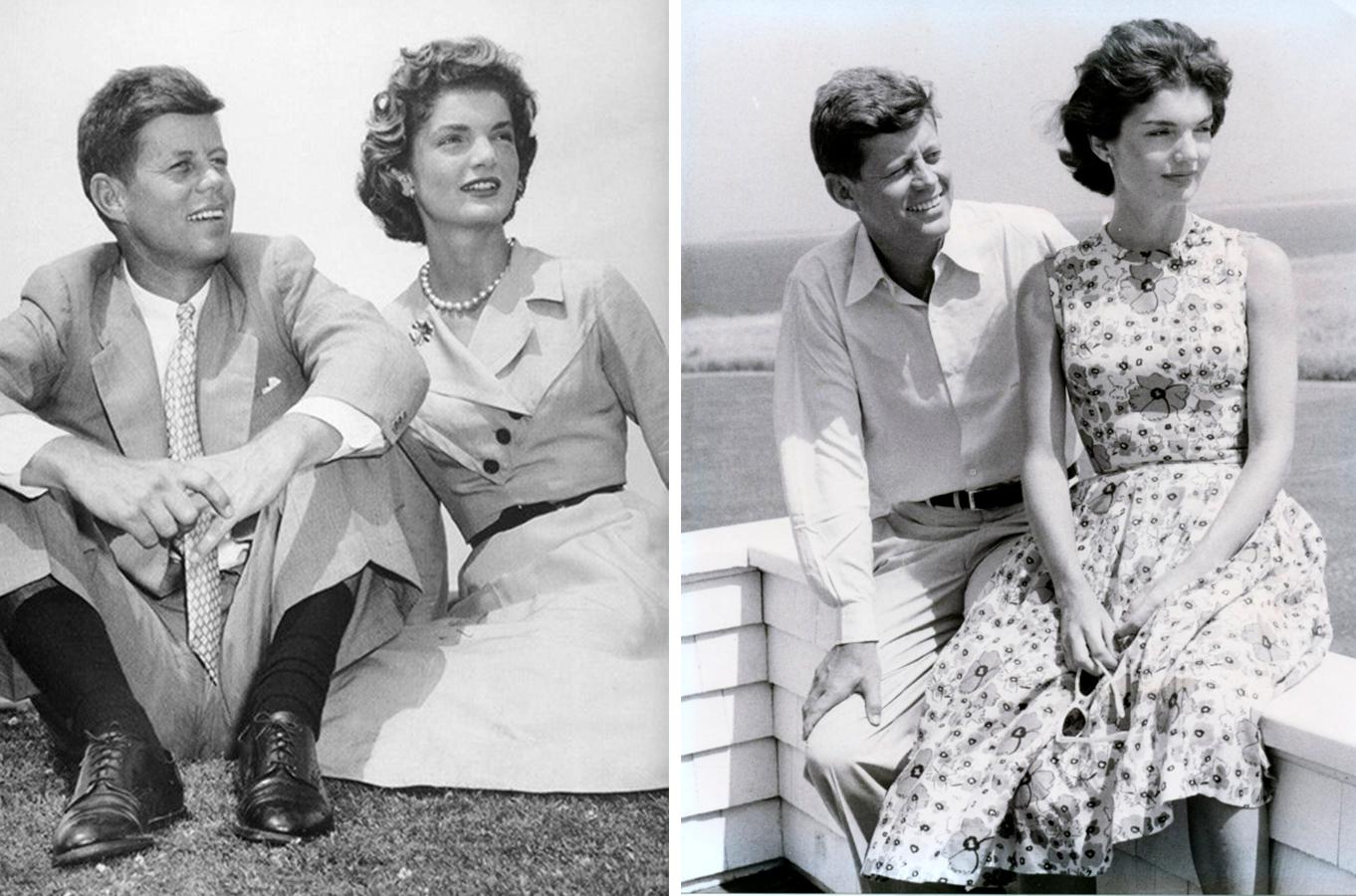 12 Жаклин Кеннеди с мужем