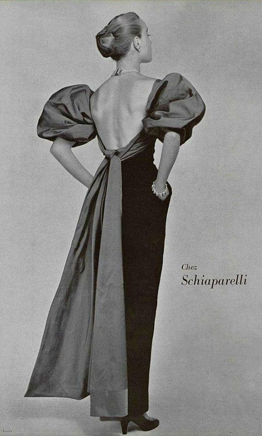 4 Платье дизайна Эльзы Скиапарелли