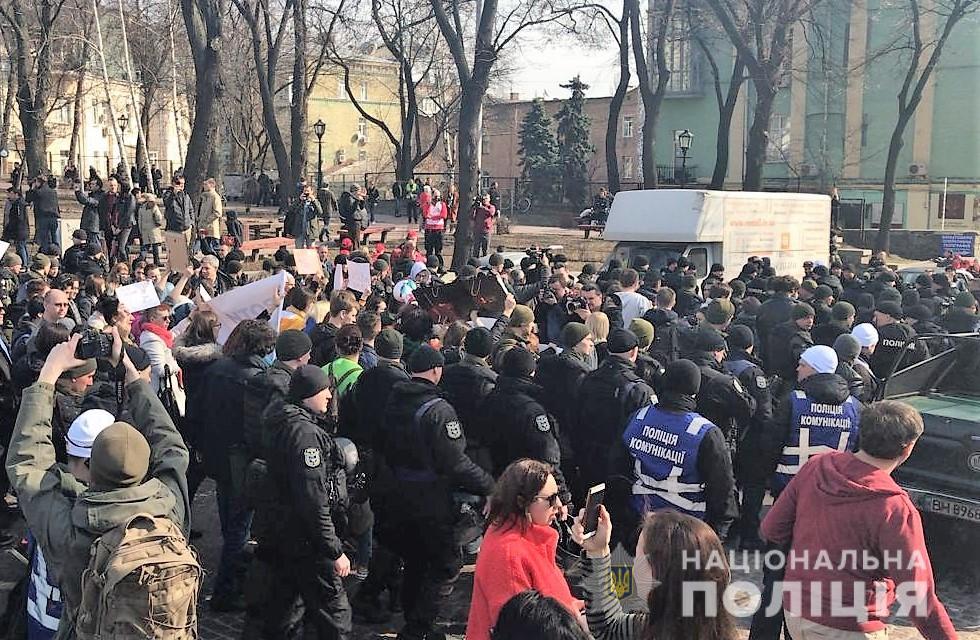 полиция_марш_женщин_киев