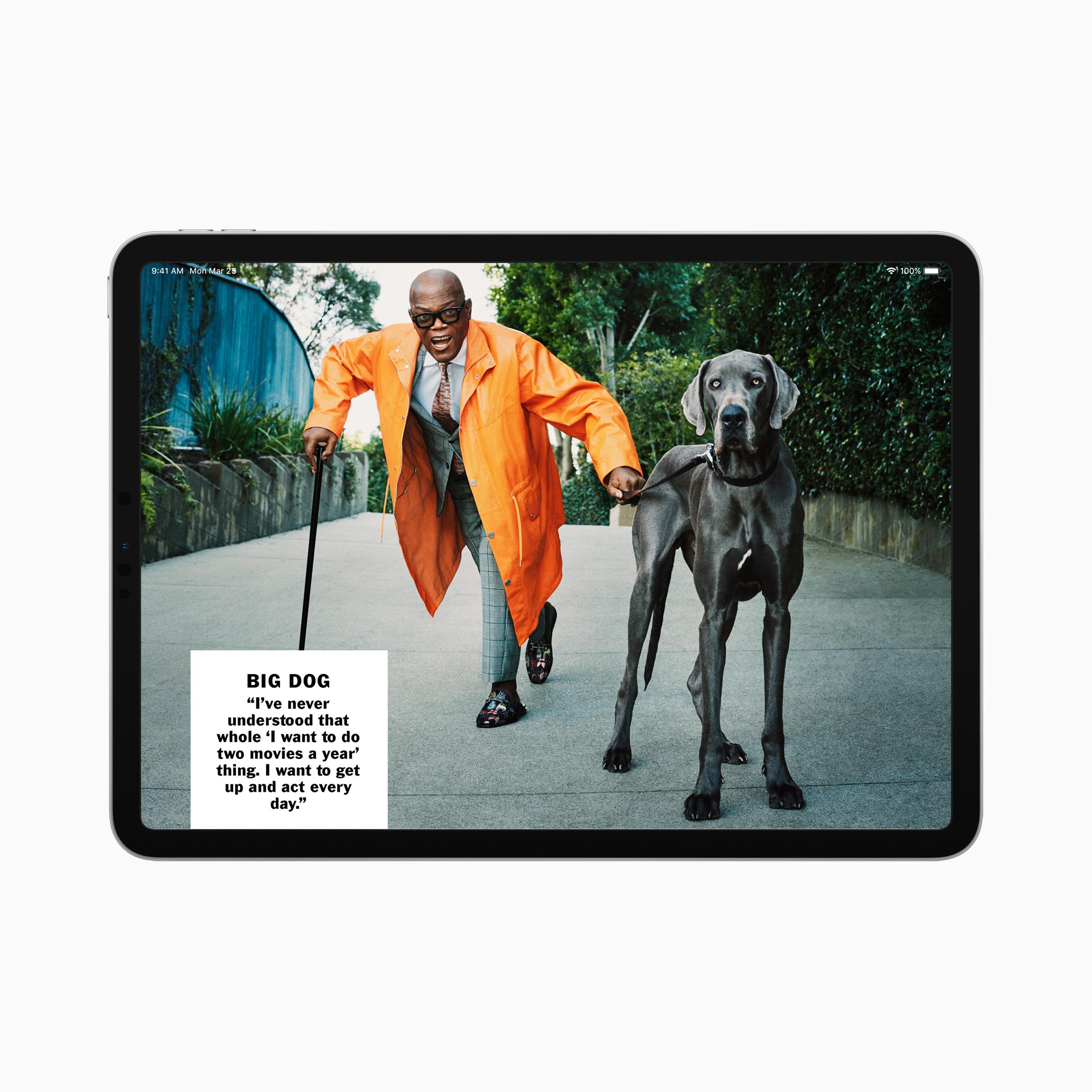 Apple news plus esquire ipad screen 03252019