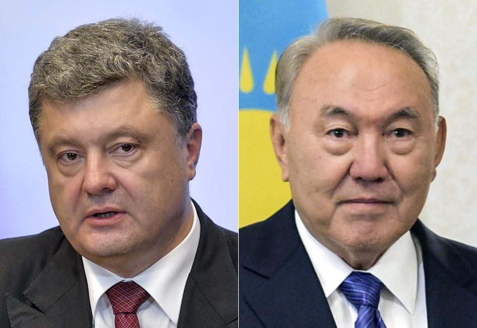 Порошенко Назарбаев