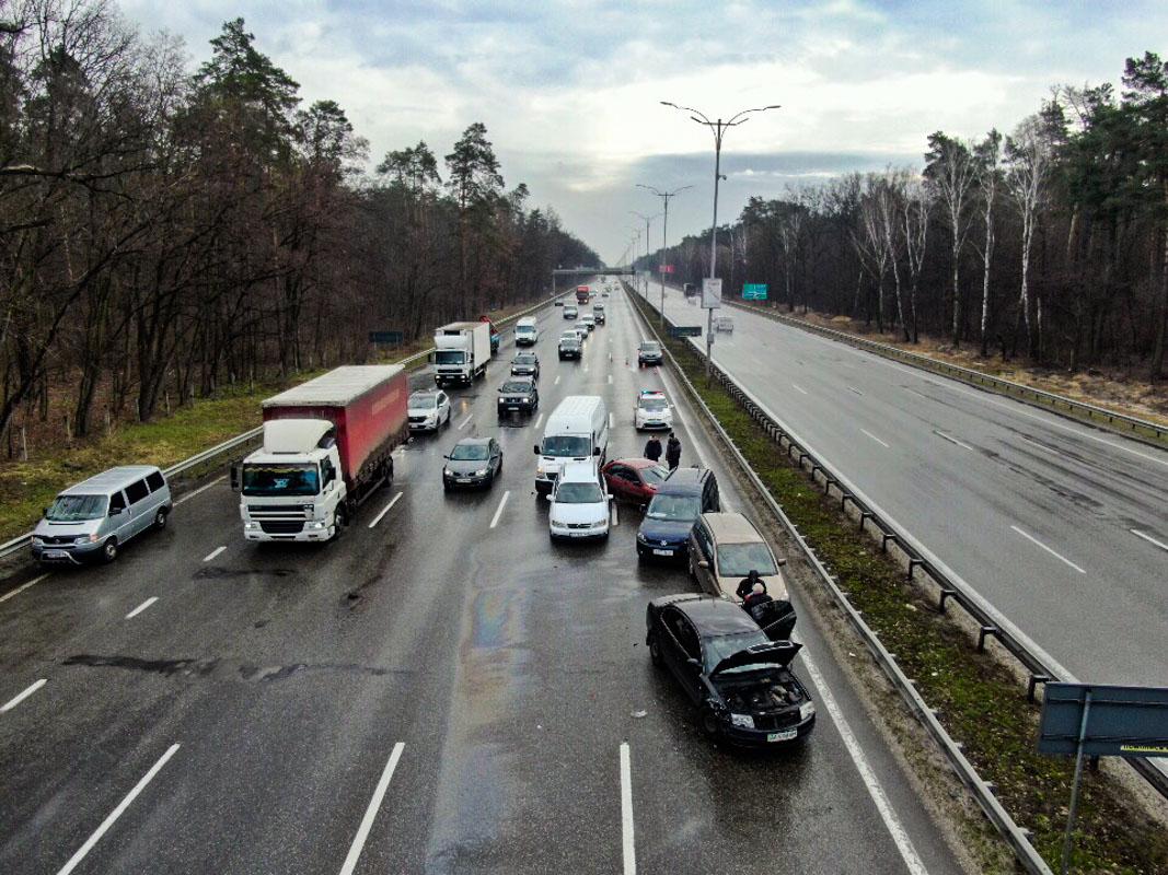 ДТП на Бориспольском шоссе