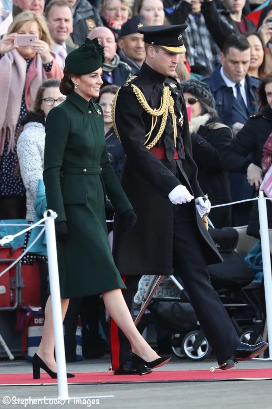Kate William Irish Guards