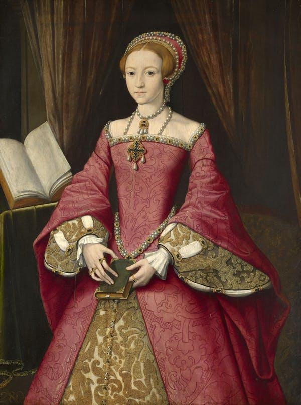 Портрет Елизаветы I принцессы 1546 года
