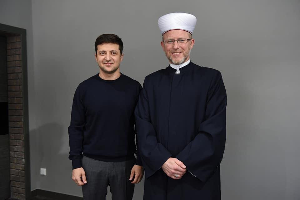 зеленский_муфтии_мусульмане