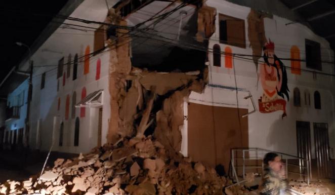 перу_землетрясение