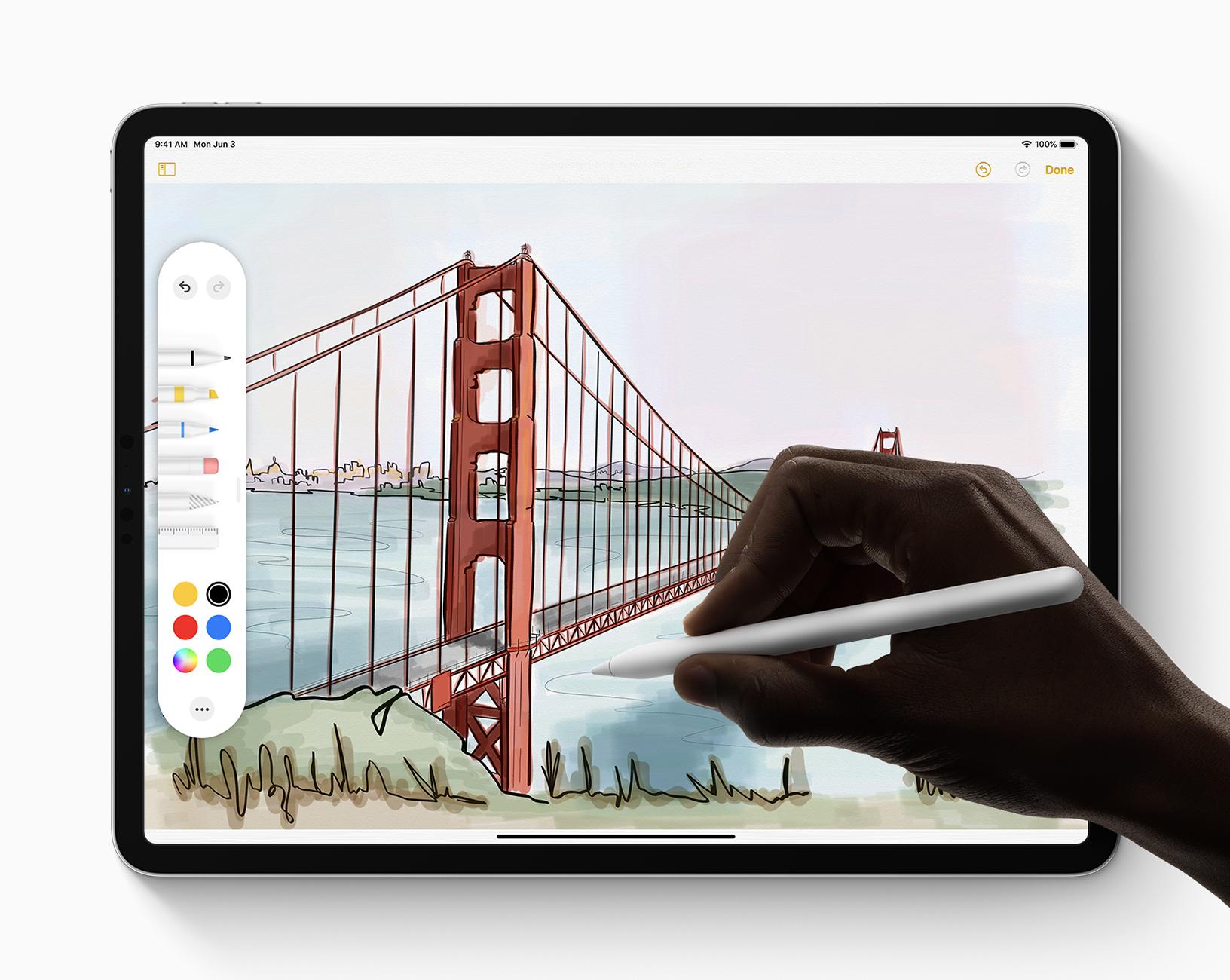 Apple iPadOS Apple Pencil 060319