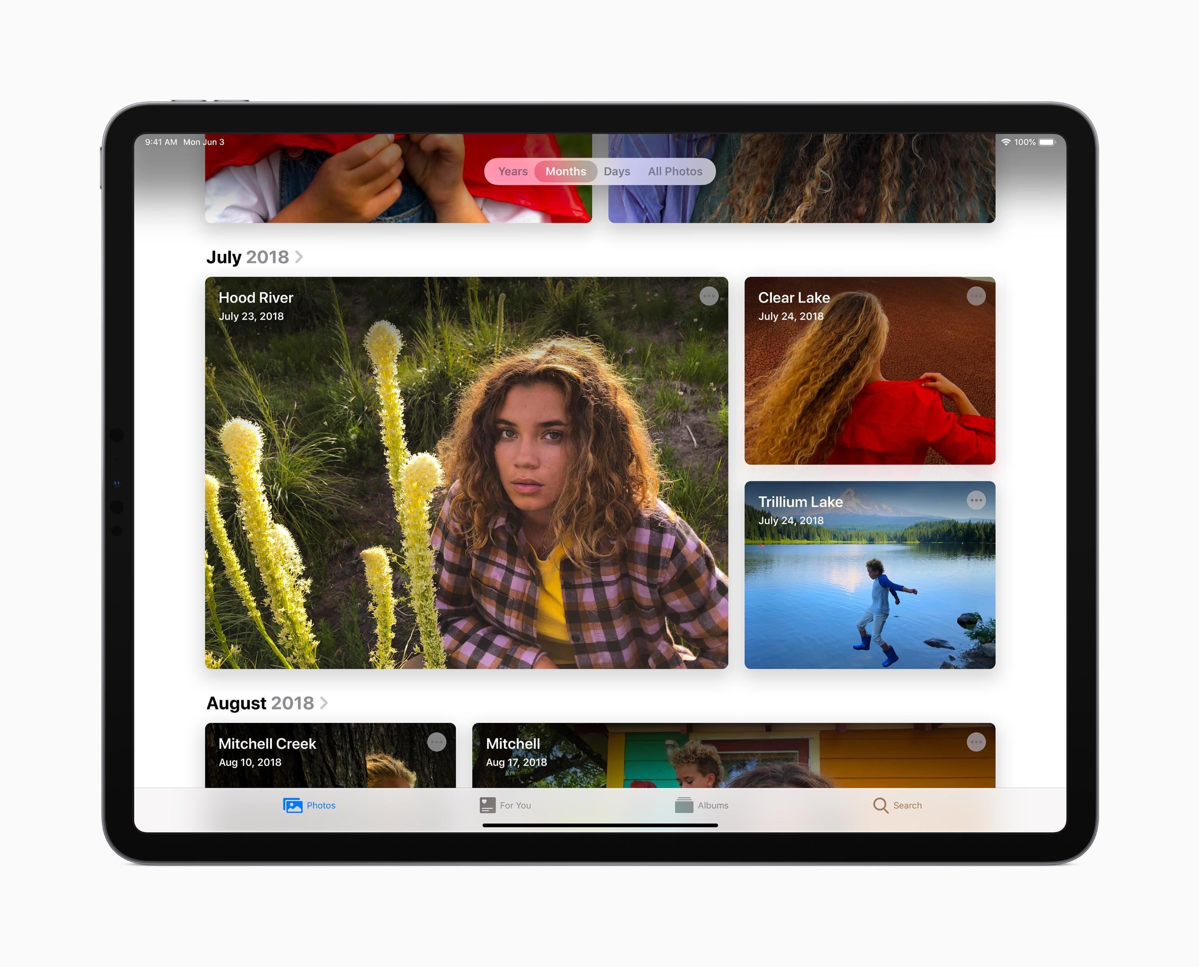 Apple iPadOS Photos 060319