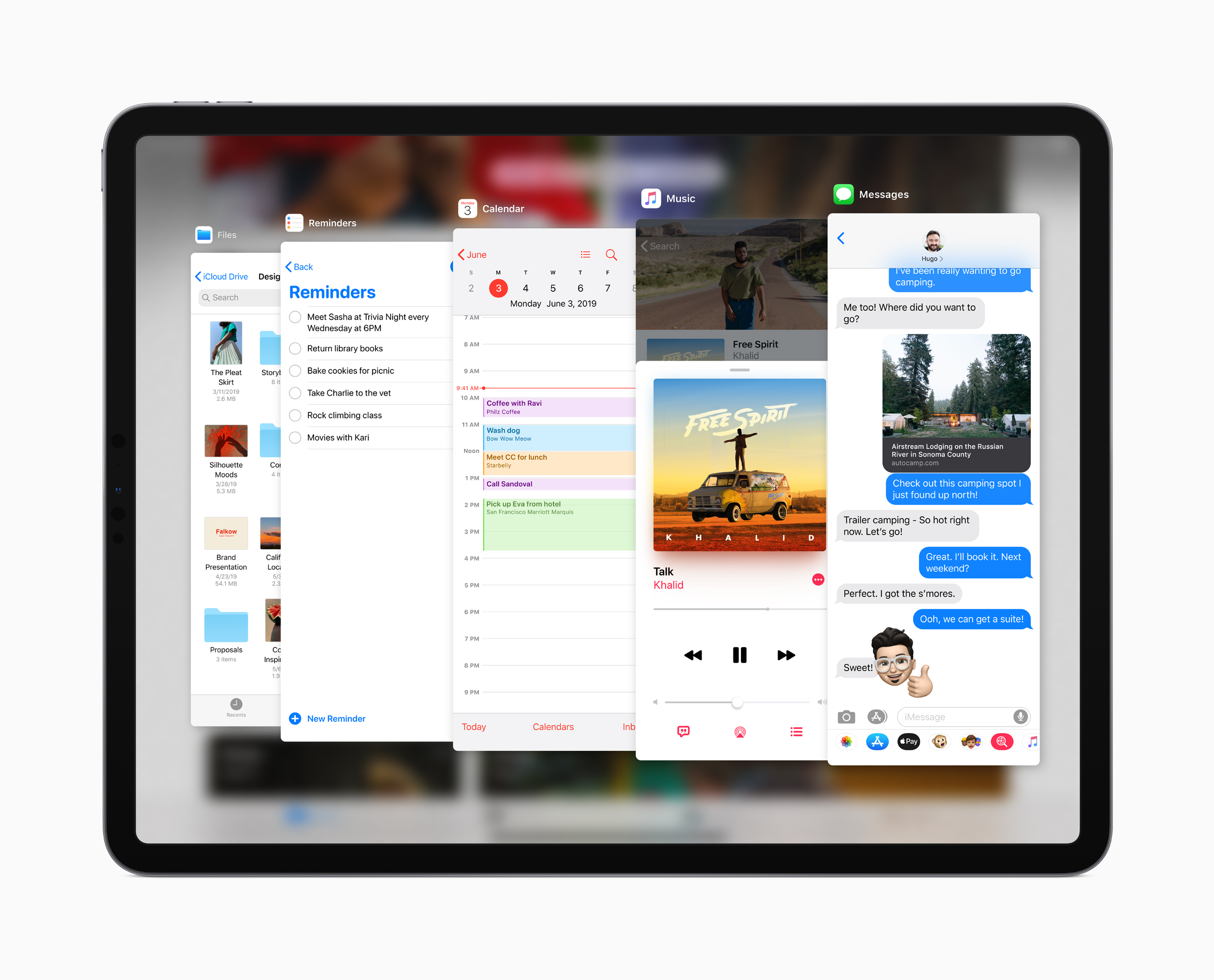 Apple iPadOS Slide Over 060319