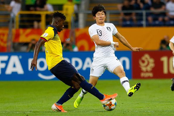 Эквадор Южная Корея