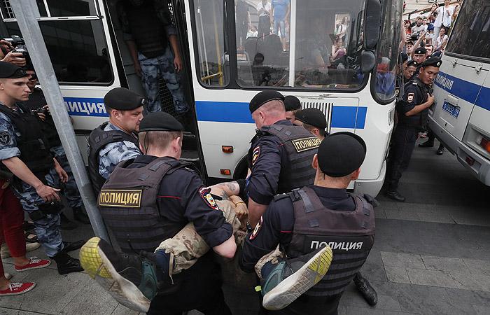 Акция Москва Голунов