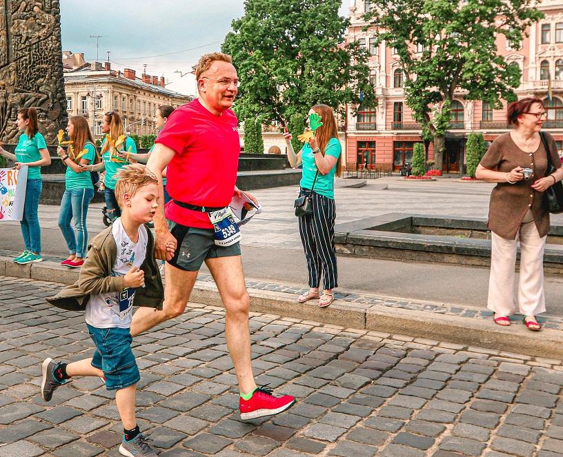 MOLOKIJA half maraton in Lviv Kraws Evgeny 2191