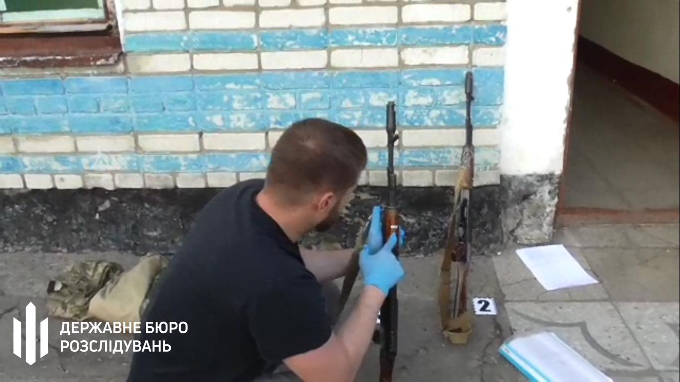 Застрелили солдата Львовская область 1