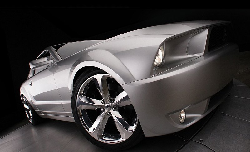 iacocca silver 45th anniversary edition ford mustang 7951 1