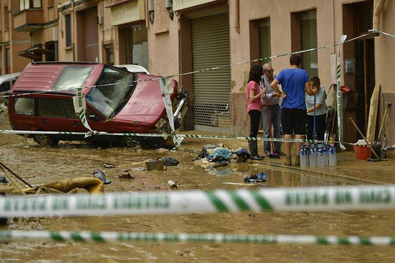 наводнение испания1