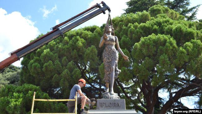 статуя флоры_ленин