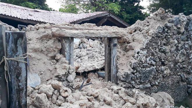 землетрус філіппіни
