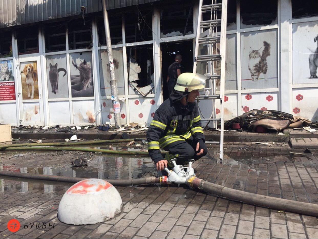 Дарница_пожар_магазины
