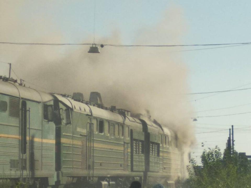 пожар_локомотив_николаев