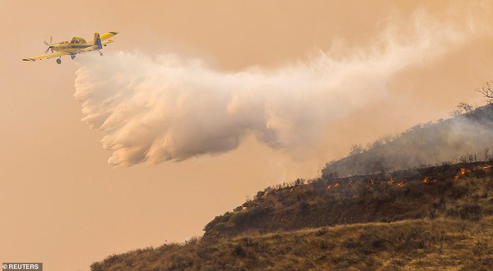 пожар на гран-канария