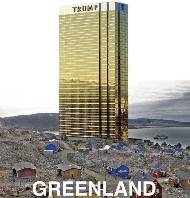 трамп тауэр в гренландии