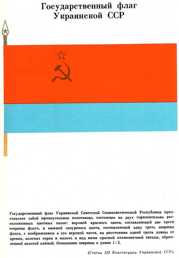 Flag Ukrainian SSR 1967