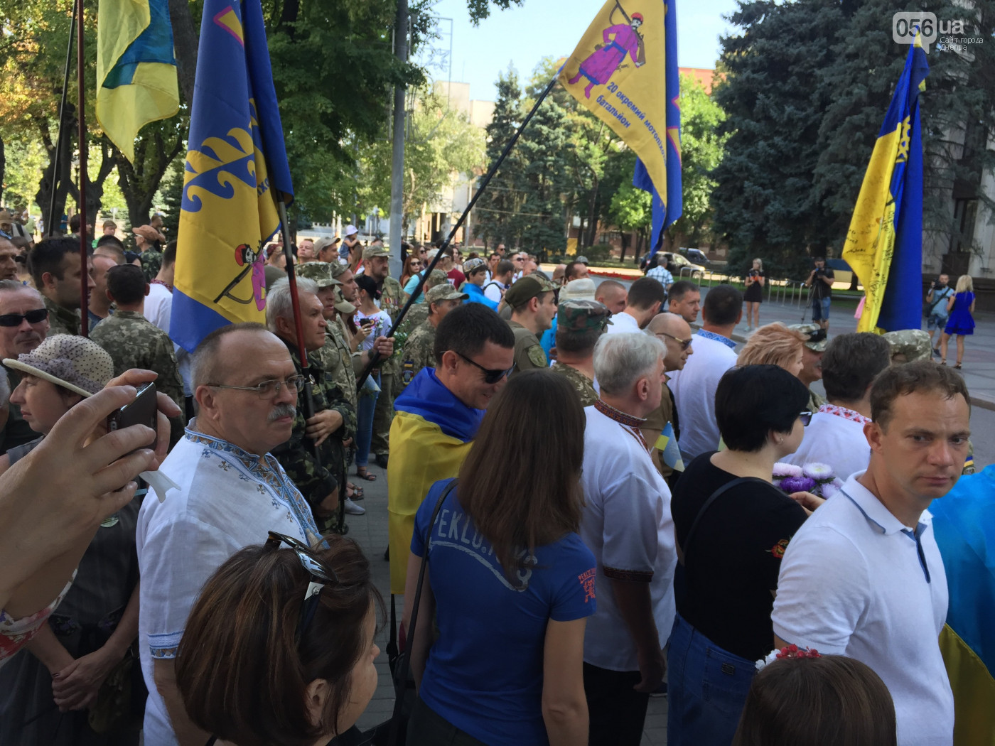 Марш Воли в Днепре
